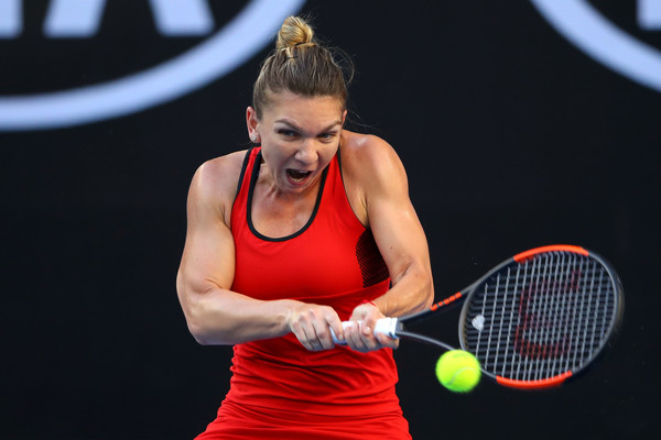 Simona Halep Eases Injury Fears With Bouchard Rout At Australian Open