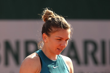 Simona Halep 2018 French Open - Day Seven