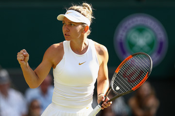 Simona Halep Day Two: The Championships - Wimbledon 2018