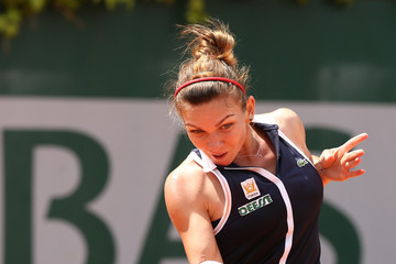 Simona Halep 2013 French Open: Day 2