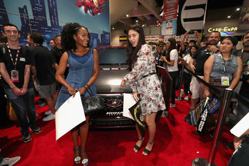 Simone Missick Hyundai Kona Iron Man At San Diego Comic-Con 2018 - Day 1