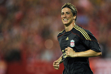 Fernando+Torres in Singapore v Liverpool FC: Pre-season Friendly