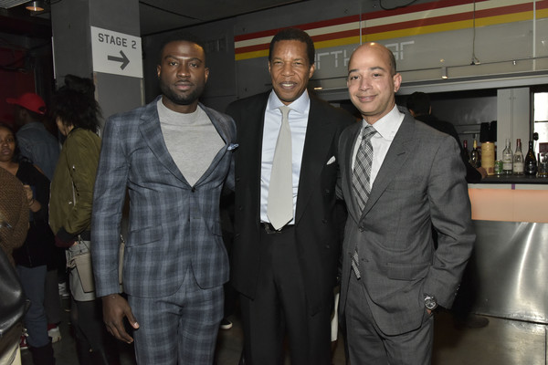 BET American Soul NYC Screening Event [suit,event,formal wear,outerwear,white-collar worker,tuxedo,blazer,businessperson,new york city,bet american soul nyc screening event,sinqua walls,scott mills,tony cornelius]