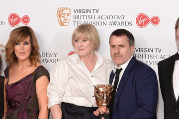 Siobhan Finneran Virgin TV BAFTA Television Awards - Winner's Room
