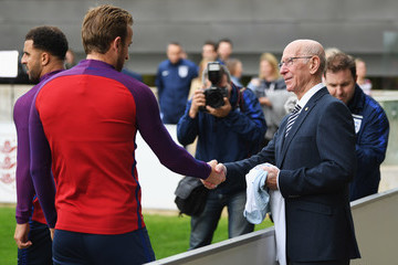 Sir Bobby Charlton England Media Access