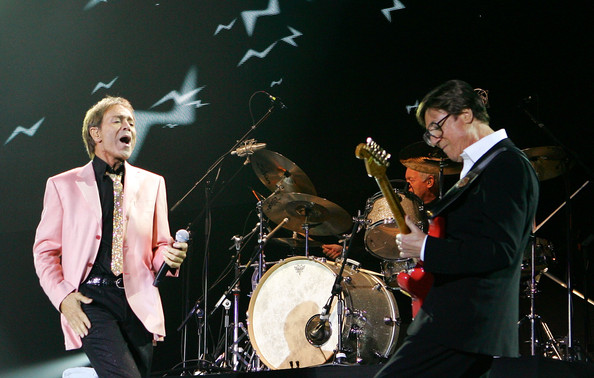 Sir Cliff Richard and Hank Marvin - Cliff Richard And The Shadows Perform At O2 Arena