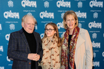 Sir David Jason Arrivals at 'Cirque Du Soleil: Quidam' Opening Night