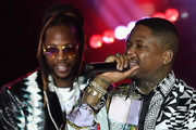2 Chainz (L) and YG perform during Sir Lucian Grainge's 2019 Artist Showcase Presented by Citi at The Row on February 9, 2019 in Los Angeles, California.