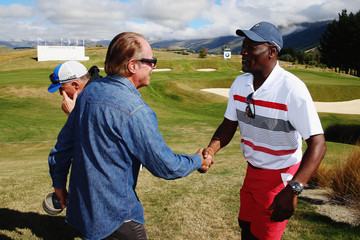 Sir Michael Hill New Zealand Open Press Conference