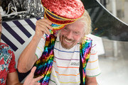 Sir Richard Branson celebrates Pride and the announcement of LGBTQ+ Virgin Voyages Charter with Atlantis Events on June 29, 2019 in New York City.