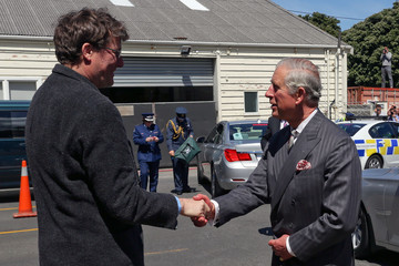 Sir Richard Taylor The Prince Of Wales And Duchess Of Cornwall Visit New Zealand - Day 5