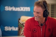 Two-time Masters champion Bernhard Langer broadcast live on SiriusXM from The Masters on April 08, 2019 in Augusta, Georgia.