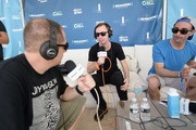 (L-R)  Head of EDM Programming of SiriusXM Geronimo and SiriusXM Host Danny Valentino interview Andrew Rayel at SiriusXM Celebrates 10th Anniversary Of The SiriusXM Music Lounge At 1 Hotel South Beach Leading Up To Ultra Music Festival; SiriusXM Music Lounge Airs Live On SiriusXM's UMF Radio  - Day 1 on March 16, 2016 in Miami, Florida.