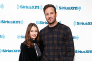 Armie Hammer and Felicity Jones Photos Photo