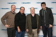 """Matt Walsh, Kevin Dunn, Frank Rich and Timothy Simons attend SiriusXM's Julie Mason Hosts """"Inside Veep,"""" A Special Event With Veep's Frank Rich, Matt Walsh, Timothy Simons, And Kevin Dunn at SiriusXM Studios on April 8, 2015 in New York City."""