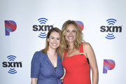 """Julia Cunningham and Julia Roberts attend SiriusXM's Launch of """"The Jess Cagle Show"""" From The SiriusXM Hollywood Studios on September 16, 2019 in Los Angeles, California."""
