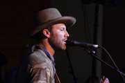 Drake White performs on SiriusXM's The Music Row Happy Hour Live On The Highway From Margaritaville in Nashville  on June 7, 2018 in Nashville, Tennessee.