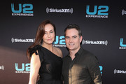 Ingrid Vandebosch (L) and Jeff Gordon attend SiriusXM's private concert with U2 at The Apollo Theater as the band takes a one night detour from the eXPERIENCE + iNNOCENCE Tour 2018 on June 11, 2018 in New York City.