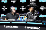 SiriusXM host Andy Cohen and artist Lil Nas X speak onstage during day 3 of SiriusXM at Super Bowl LIV on January 31, 2020 in Miami, Florida.