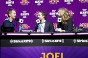 (L-R) NASCAR driver William Byron SiriusXM host Joel Osteen and SiriusXM host Victoria Osteen speak onstage during day 3 of SiriusXM at Super Bowl LIV on January 31, 2020 in Miami, Florida.