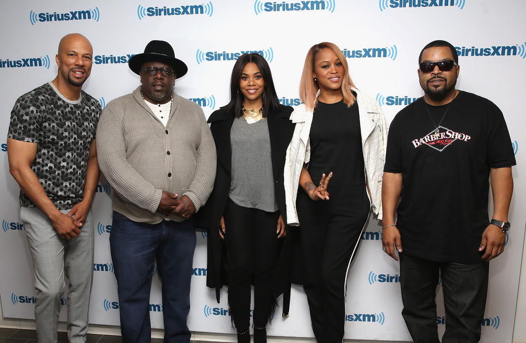 Barbershop Actors : Photos Photos - SiriusXMs Town Hall with the Cast of Barb...