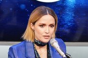 Rose Byrne speaks during SiriusXM's Town Hall with the cast of 'Like A Boss' hosted by Hoda Kotb at the SiriusXM Studio on January 8, 2020 in New York City.