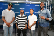 Pimpin, Jermaine Dupri and Bow Wow take part in SiriusXM's Town Hall with Jermaine Dupri hosted by Dion Summers at SiriusXM Studios on June 15, 2018 in New York City.