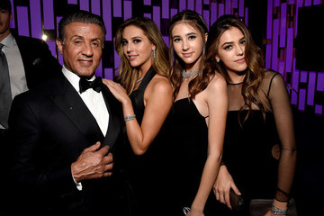 Sistine Rose Stallone The 2017 InStyle And Warner Bros. 73rd Annual Golden Globe Awards Post-Party