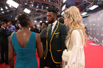 Siya Kolisi Red Carpet - 2020 Laureus World Sports Awards - Berlin
