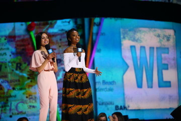 Skai Jackson Russell Wilson, Pete Carroll, Doug Baldwin, Lily Collins, Allen Stone, Grace VanderWaal And More Come Together At WE Day Seattle To Celebrate Young People Changing the World