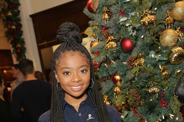 Skai Jackson Brooks Brothers Celebrates the Holidays With St. Jude Children's Research Hospital