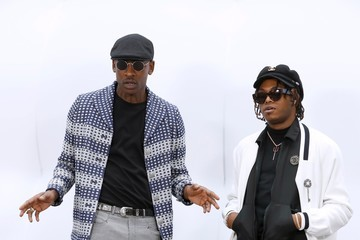 Skepta Chanel : Outside Arrivals - Paris Fashion Week Womenswear Fall/Winter 2017/2018