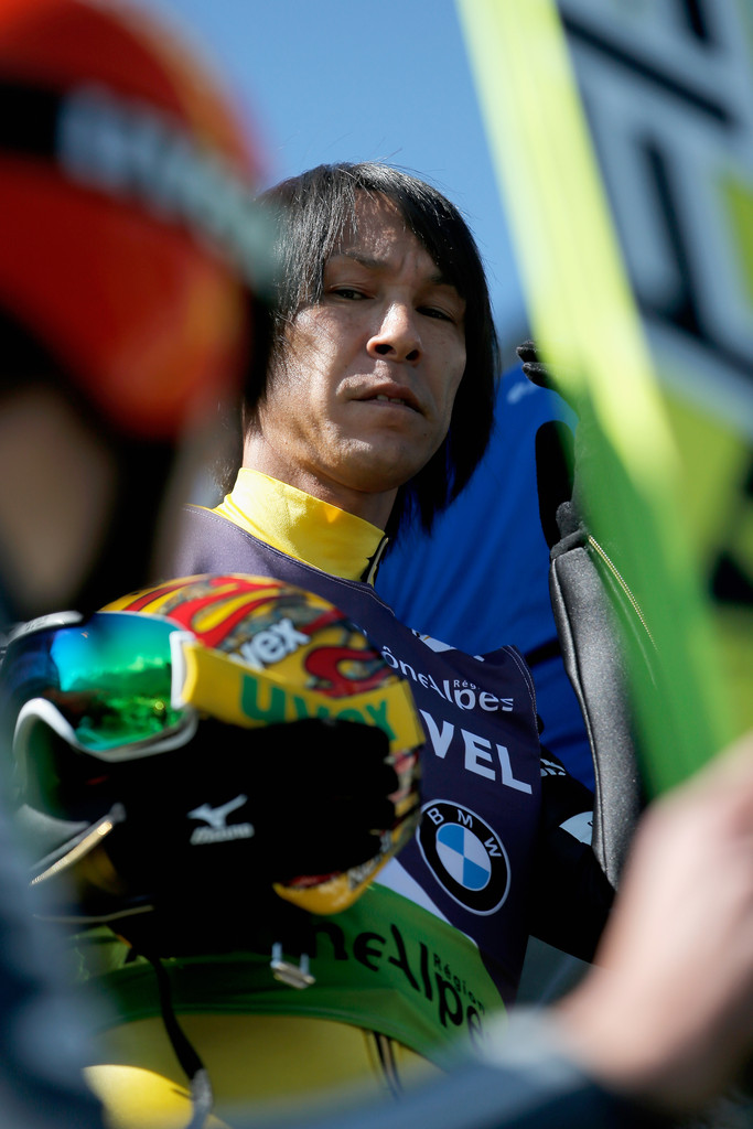 Noriaki Kasai Photos Photos - Ski Jumping Summer Grand Prix - Zimbio