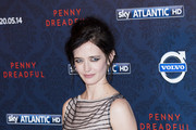 "Eva Green attends a photocall for Sky Atlantic's ""Penny Dreadful"" at St Pancras Renaissance Hotel on May 12, 2014 in London, England."