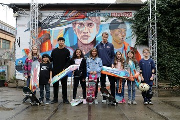 Sky Brown Laureus Sport for Good Skateboard Visit - 2020 Laureus World Sports Awards - Berlin