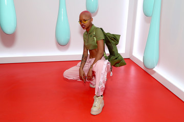 Slick Woods Burberry Celebrates the Launch of the DK88 Bag, Hosted by Chief Executive and Chief Creative Officer Christopher Bailey