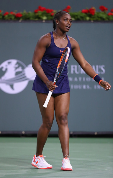 Sloane Stephens Photos Photos - 2016 BNP Paribas Open ...