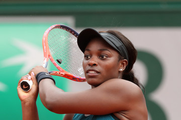 Sloane Stephens 2018 French Open - Day Ten
