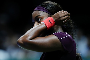 Sloane Stephens BNP Paribas WTA Finals Singapore Presented By SC Global - Day 2