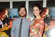 """Director James Ponsoldt and Mary Elizabeth Winstead attend the """"Smashed"""" New York Premiere at the Museum of Modern Art on October 4, 2012 in New York City."""