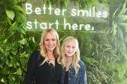 Barbara Alyn Woods and Alyvia Alyn Lind attend SmileDirectClub at TMG's Pre-Oscars lounge party at The Beverly Hilton Hotel on February 08, 2020 in Beverly Hills, California.