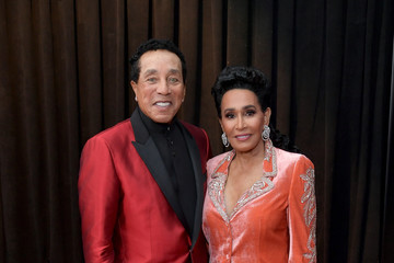 Smokey Robinson 61st Annual Grammy Awards - Red Carpet