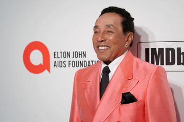 Smokey Robinson 28th Annual Elton John AIDS Foundation Academy Awards Viewing Party Sponsored By IMDb, Neuro Drinks And Walmart - Arrivals