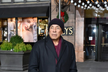 Smokey Robinson Macy's Thanksgiving Day Parade Talent Rehearsals