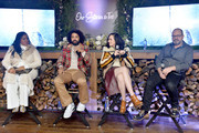 "April Reign, Daveed Diggs, Lena Hall and Graham Manson speak at the ""Snowpiercer"" Panel & Reception at Firewood on January 25, 2020 in Park City, Utah."