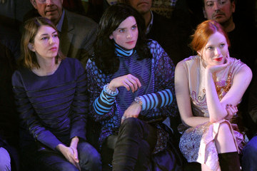 Sofia Coppola Front Row at the Anna Sui Show