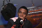 Christian Combs performs onstage at Sofia Richie x Missguided Launch Party at Bootsy Bellows on September 18, 2019 in West Hollywood, California.