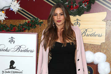 Sofia Vergara Brooks Brothers Hosts Annual Holiday Celebration In Los Angeles To Benefit St. Jude - Arrivals