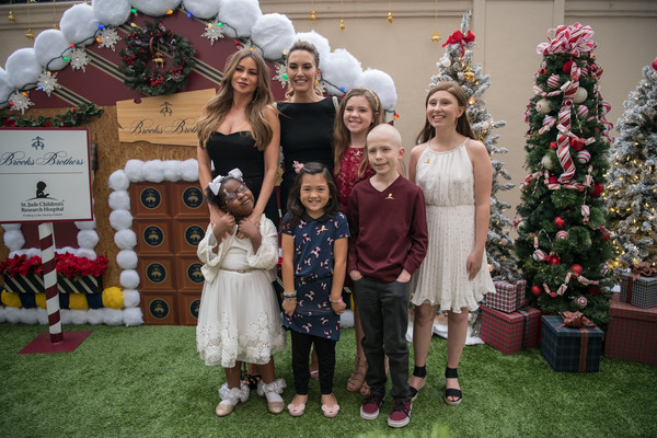Brooks Brothers Hosts Annual Holiday Celebration In Los Angeles To Benefit St. Jude - Red Carpet