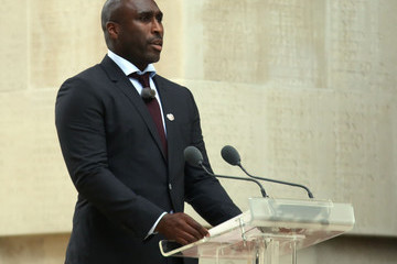 Sol Campbell Royal Family Attend The Somme Centenary Commemorations In France